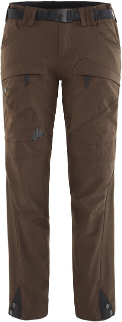 Klättermusen W's Gere 2.0 Pants Short Dark Coffee